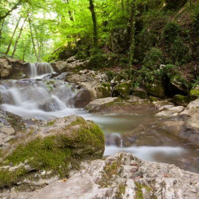 Soteska potoka Radulja